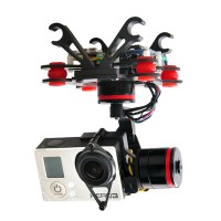 TopSkyRC HMG3D FPV 3 Axis Gopro 3 Hero3 Brushless Gimbal(debug free) for FPV Photography