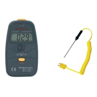 MASTECH MS6500 31/2 K-type Digital LCD -50---750 Degree Thermometer Temperature Meter w/ Thermocouple Probe Measurable