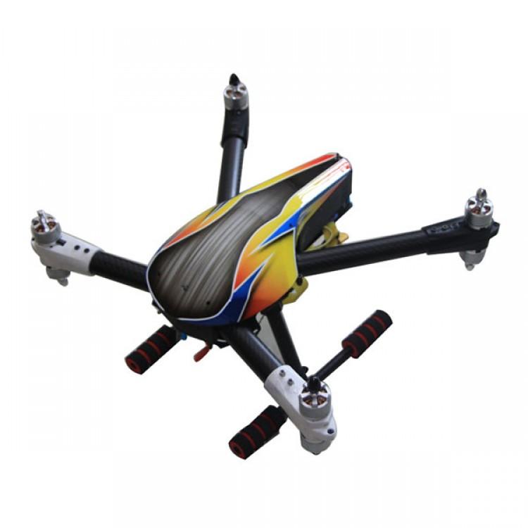 SKY MAX X8 Quadcopter Frame Kit Full Carbon Fiber Folding Alien for ...