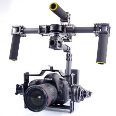3 Axis DSLR Carbon Fiber Handheld Gimbal with Motors and Controller for FPV Photography
