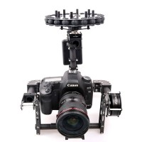 G10 3 axis Brushless Aerial Gimbal for FPV Photography