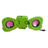 Apple Shape Mini Sound Box Frame Kits DIY Kits Adorable Mini Amplifier w/ USB to DC Power Cable