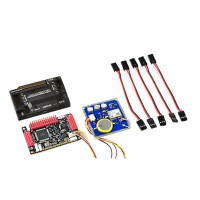 APM 2.6 ArduPilot Mega 2.6 Multicopter UAV Flight Control Board APM2.6+Neo-6M GPS w/ External Compass + Case (Promotion)