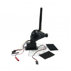 FC108 FPV 5.8Ghz High Definition Video Camera Transmitter Servo 976*496P 32ch OSD Black