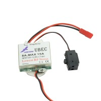 Hobbywing 2-3s Lipo UBEC-8A 5V/6V 8A/15A BEC Step-Down Voltage for Helicopters and Airplanes
