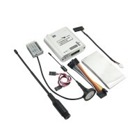 Arkbird 433UHF Transmitter + Receiver Extended Range RC System 100mw-1400mw Adjustable Support Wfly Futaba FPV & Other