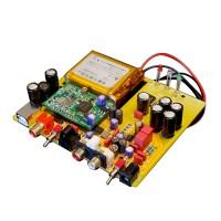 Wind DAC Decoder Assembled PCB Board Support 384K 32BIT(Battery USB Card Not Included)
