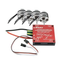 Emax 25A 4 in1 ESC & 4Pcs XA2212-1400KV Brushless Motor for Quadcopter Multicopter