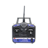 FS-CT6B 2.4GHz 6CH Transmitter + Receiver System for RC Helicopter Model