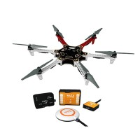 DJI F550 MultiCopter Hexacopter ARF Kit ESC E300 Motor Propeller New Version with NAZA V2 & GPS