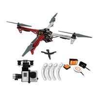 DJI F450 Multicopter Quadcopter ARF Kit Combo & Naza-M V2 Flight Control System & Landing Gear & H3-3D Gimbal