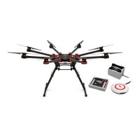 DJI Spreading Wings S1000+ Plus Octocopter Multicopter for 5D2 5D3 FPV & WooKong-M & Z15-5DIII Gimbal