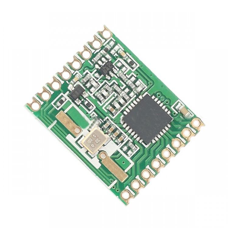10PCS RFM69H 100mW Wireless Transmitting Receiving Module SPI