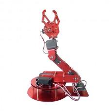 6DOF Aluminium Robotic Arm Metal Arduino Robot Teaching Platform