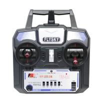 Nova Versao FS Flysky FS-i4 Transmissor 2.4G 4 canais e LED Sistema receptor para RC helicoptero Glider