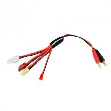 BB B8 Battery Charger Cable Banana Plug to XT60 T Plug Normal Version TRX 4 Ports Version