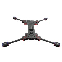 H4 1.6MM Board 680MM Wheelbase Single C Buckle Folding Carbon Fiber Quadcopter(No Landing Gear)