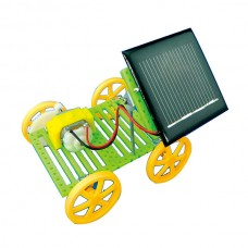 Solar Model Car Battery Panel Robotic DIY Education Toy for Children