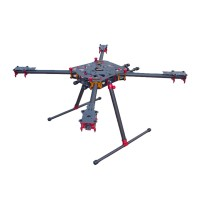ATG-18-HX4-690 Full Carbon Fiber Folding Quadcopter Kits for FPV Photography