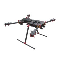 ATG-18-H4-12 Full Carbon Fiber Folding Quadcopter Kits for FPV Photography