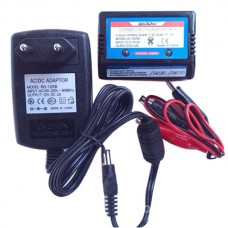 Servo Power Supply Charger Lipo Battery Adapter 7.4V Charger for Multicopter