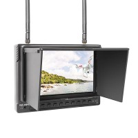 Feelworld 7 Inch FPV Monitor FPV732 Built in Dual Receiver for Aerial Photography
