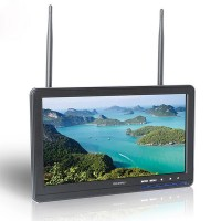 FeelWorld FPV101DT 10.1 Inch HD 32CH Wireless Built-in Receiver Monitor for Photography