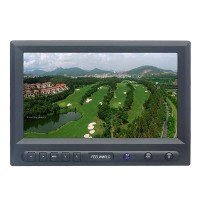 NO Blue/Black Screen 8 Inch HD FPV Monitor W/Sunhood NTSC PAL Aerial Photography Ground Station HD Monitor FPV819A
