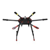 Tarot X6 Hexacopter TL6X001 Umbrella Folding Arm w/ Electronic Landing Gear for FPV Photography