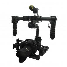 Assembled Handheld Gimbal 32 Bit Control Board Carbon Fiber 3 Axis Camera Gimbal CNC DSLR Stabilizer