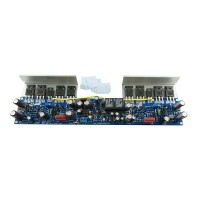 L50 500W 8ohm Full Bridge Single Channel Preamplifier Latter Merge Assembled Board 500W w/ Aluminum Angle
