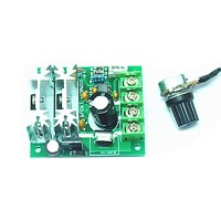 W110Free Shipping 6V/12/24V 10A Pulse Width Modulator PWM DC Motor Speed Control Switch Controller