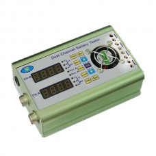 MHB20-A(10-120V) Dual Storage Battery Capacity Tester Voltage 0-20A Current Discharge Internal Resistance Tester