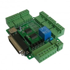 5 Axis CNC USB Breakout Board Interface Adapter +USB Cable for CNC Engraving Machine
