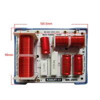 2 Way Crossover Filters For Multi Speakers 2 Unit HiFi Audio Frequency Divider