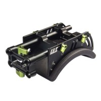 LanParte Camera Shoulder with Pad Mount For 5d2 7d 60d gh1 gh2 Kit Rig
