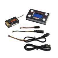 Flybarless System GY280RX VBAR Receiver w/ 3-Axis Gyro DSM2 Premium Card Set