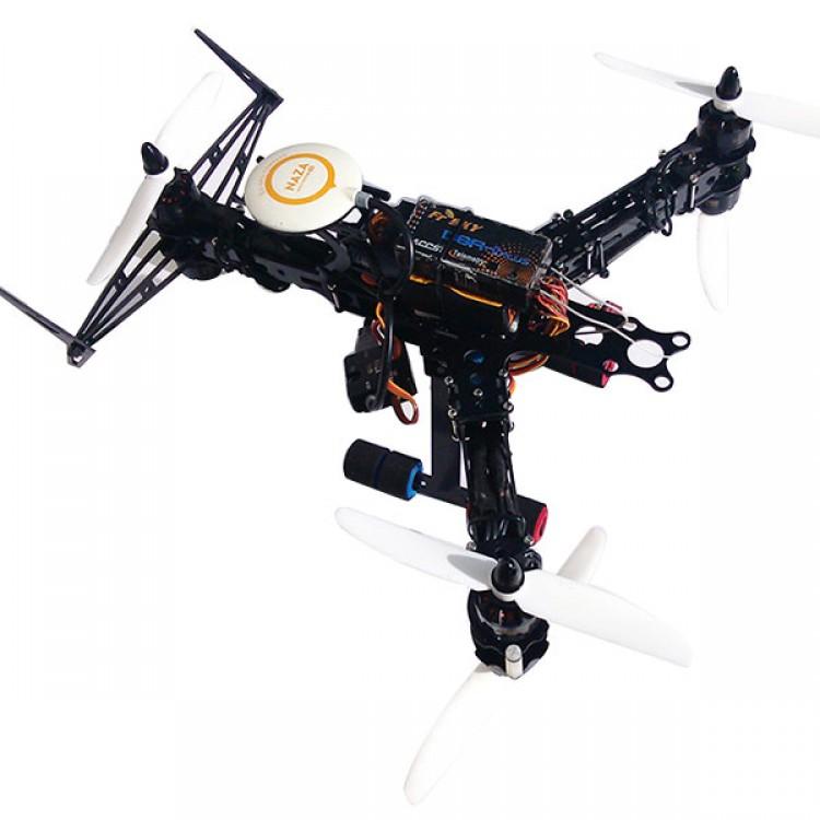 Mini Y6 Shark Tail Y6 Mini Tricopter 280mm 3 Axis Glass Fiber FPV ...