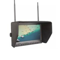 Feelworld PVR-1032 FPV Monitor 10.1'' HD 5.8GHz 32CH Receiver Video Wireless Monitor Built-in Battery with DVR