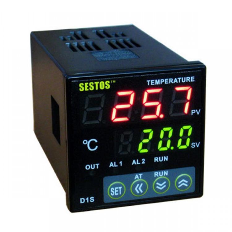 K thermocouple Digital PID Temperature controller D1S-VR-24 25A SSR