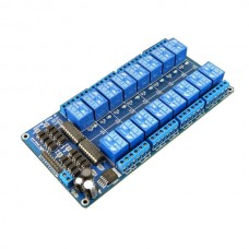 12V 16 Channel Relay Module Shield with LM2576 for Arduino ARM PIC AVR DSP