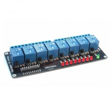 8 Channel Relay Module Interface Board DC 5V for PIC AVR MCU DSP Arduino