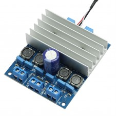 TDA7492 50W +50W / 100W D Class Digital Amplifier Board AMP Board with Radiator