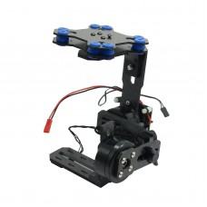 HGMC-04 Carbon Fiber  Brushless Gimbal Aluminum Alloy Connecting Board  FPV Photography Specially Designed for Micro DSLR Sony NEX5 5N 5R 7N GH2