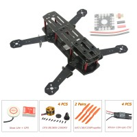 ZMR250 250mm Glass Fiber 4 Axis Mini Quadcopter + Naza Lite & DYS BE1806 & Hobbywing XRotor 10A Opto ESC