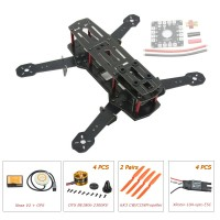 ZMR250 250mm Glass Fiber 4 Axis Mini Quadcopter + Naza V2 & DYS BE1806 & Hobbywing XRotor 10A Opto ESC