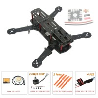 ZMR250 250mm Glass Fiber 4 Axis Mini Quadcopter + Naza V2 & EMAX MT1806 & EMAX Simonk 12A ESC