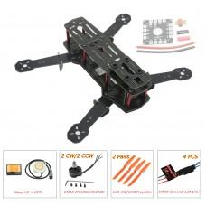 ZMR250 250mm Glass Fiber 4 Axis Mini Quadcopter + Naza V2 & EMAX MT1806 & EMAX Simonk 12A ESC