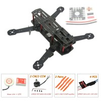 ZMR250 250mm Glass Fiber 4 Axis Mini Quadcopter + Naza Lite & EMAX MT1806 & EMAX Simonk 12A ESC