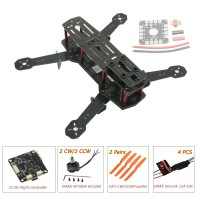 ZMR250 250mm Glass Fiber 4 Axis Mini Quadcopter + CC3D Flight Controller & EMAX MT1806 & EMAX Simonk 12A ESC